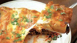 Cannelloni cu branză si mărar