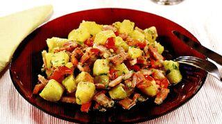 Cartofi taranesticu bacon afumat