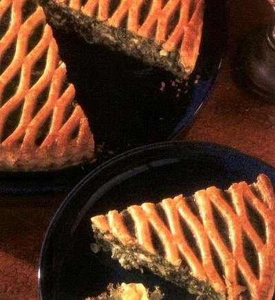 Plăcinta cu spanac şi ceapa