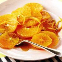 Portocale cu migdale