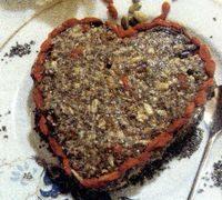 """Prajitura vegana """"Valentine's Day"""""""