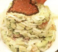 Salată de crudităţi cu maioneză dietetică