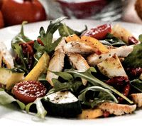 Salată de pui fript şi porumb