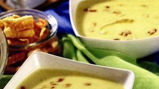 Supa de praz cu condimente