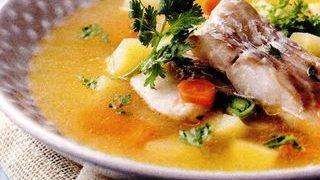 Supă de peşte cu orez