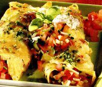 Clatite cu legume si iaurt