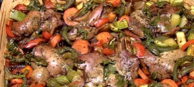 Cum se prepara Ficat de iepure cu legume