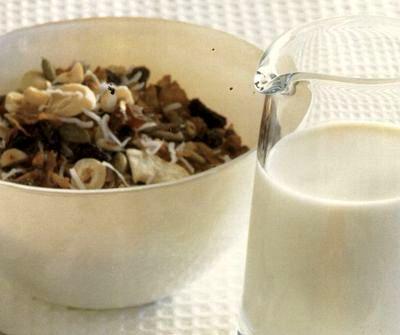 Cereale cu kiwi si caju