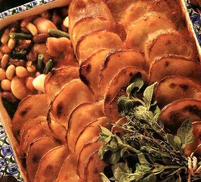 Musaca de cartofi cu branza