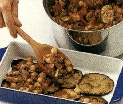 Musaca de vinete cu mix de legume