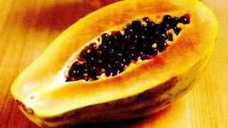 Cremă tropicală cu papaia
