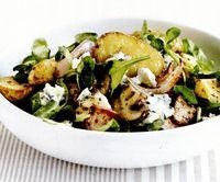 Salata de cartofi cu ceapa si mustar