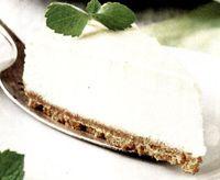 Cheesecake cu bezea si biscuiti
