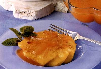 Ananas cu scortisoara si rom
