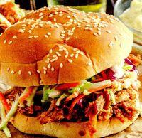 Hamburger de porc cu varza