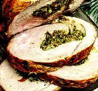 Pulpa de porc umpluta cu legume