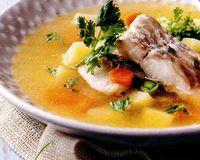 Supa de peste cu verdeata