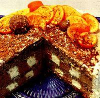 Tort cu aroma de portocale