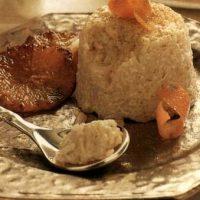 Budinca de orez cu lapte de cocos