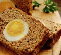 Drob cu ou din carne de miel, curcan sau viţel