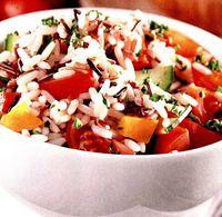Orez cu legume proaspete