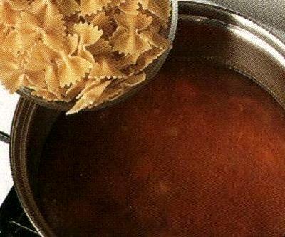Supa de paste cu spanac