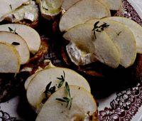 Bruschete cu Camembert