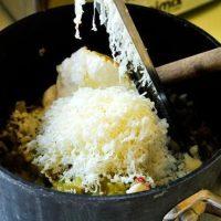 Inel din orez cu peste