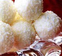 Bombonele cu miere sifulgi de cocos