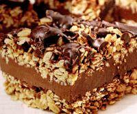 Prajitura cu ciocolata si fulgi de ovaz