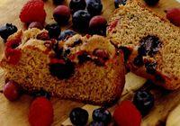 Prajiturica cu fructe de padure