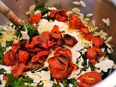Salata de orz cu rosii coapte