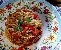 Tocanita simpla de legume cu orez