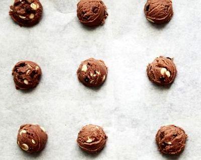 Fursecuri cu ciocolata si vanilie