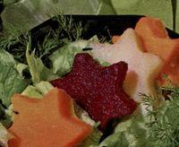 Salata cu dovleac si sfecla
