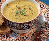 Supa crema de dovlecei si cartofi