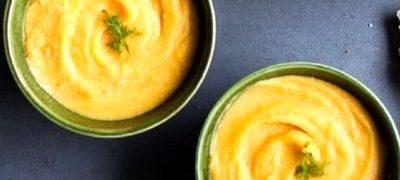 Supa de linte galbena cu cartofi