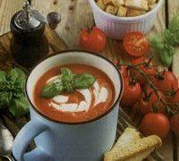Supa de rosii cu nuci sau migdale