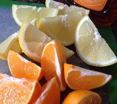 Ceai cu aroma de citrice