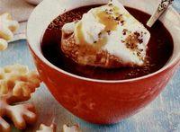 Ciocolata calda cu coniac