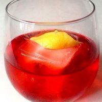 Cocktail cu campari si gin