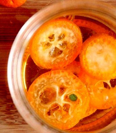 Miere aromata cu kumquat