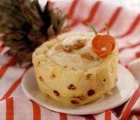 Prajitura cu stafide si ananas