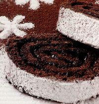 Rulada cu biscuiti si ciocolata