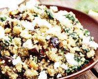 Salata calda cu quinoa
