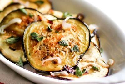 Salata de vinete cu vinegreta de otet balsamic