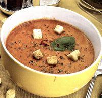 Supa crema de rosii si morcovi
