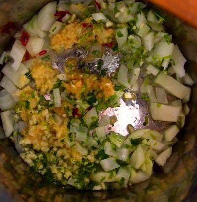 Supa de dovleac cu coriandru si curry
