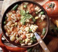 Supa de fasole cu anghinare