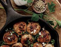 Chiftele marocane de curcan cu garnitură de cuşcuş